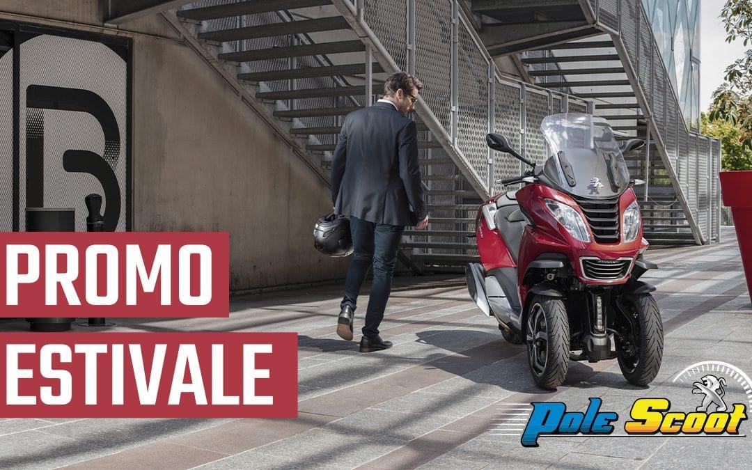 Promo Estivale – Votre scooter Peugeot à partir de 1 € / jour – 500 € de remise sur Voge
