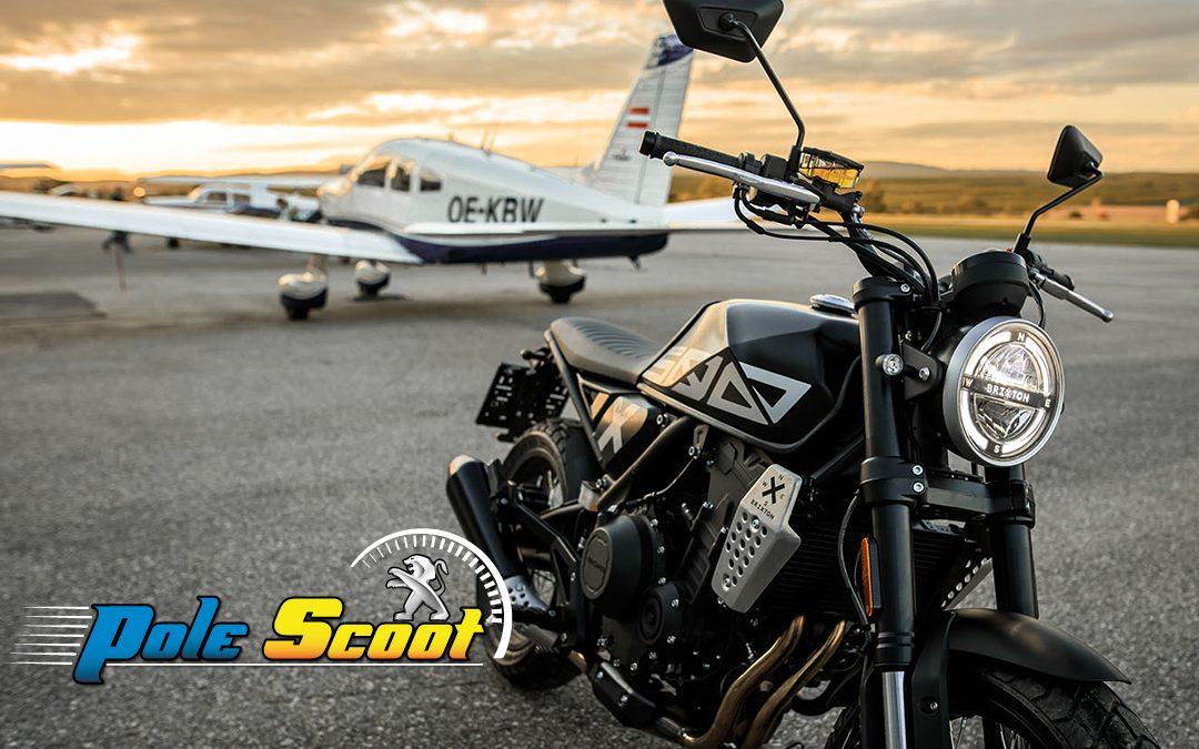 Brixton : les motos vintage disponibles chez Pôle Scoot !